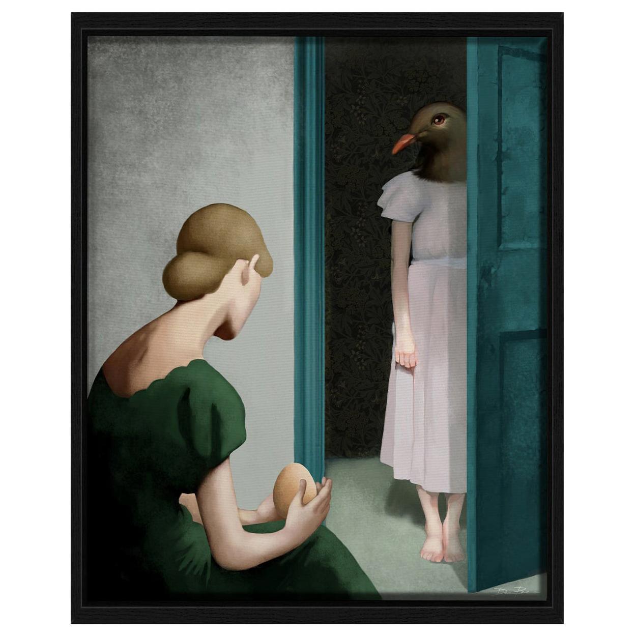 Sense of Motherhood Digital Painting