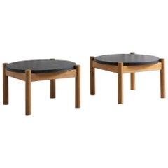 Sentou Wood and Granite Coffee Table