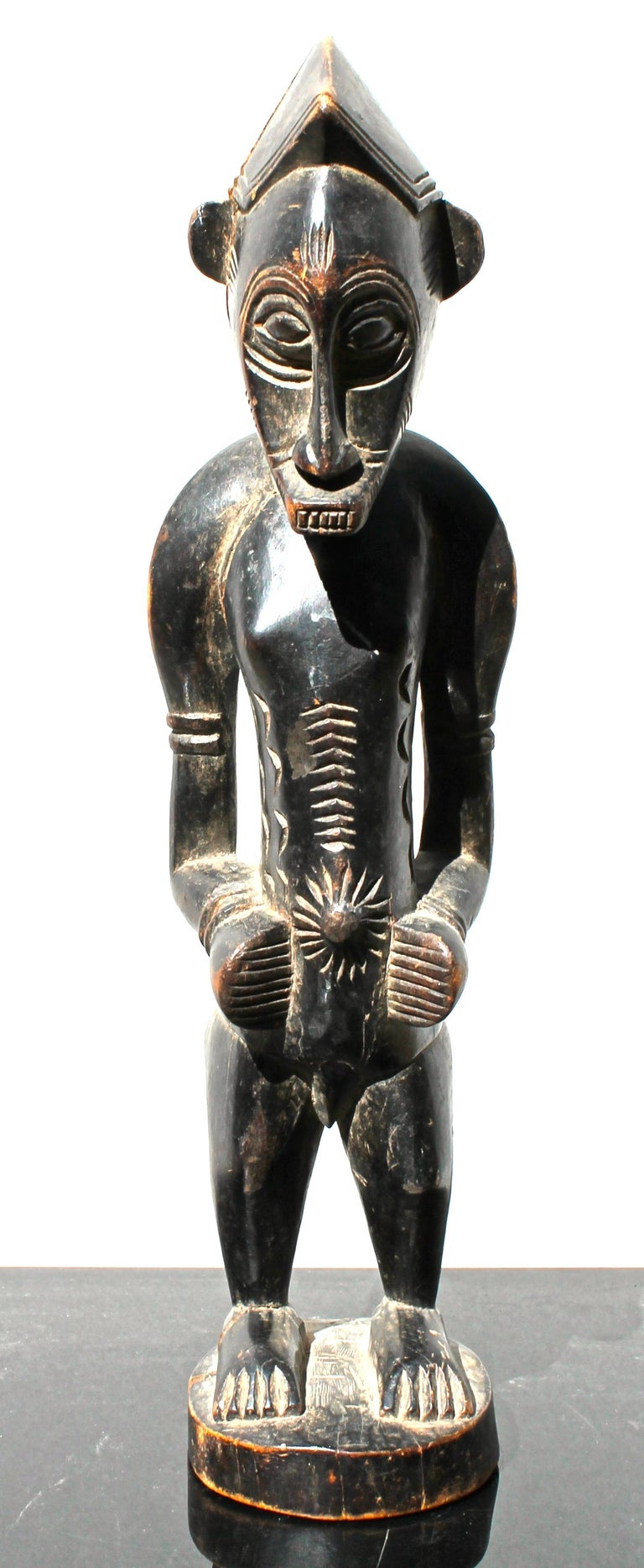 Tribal Senufo Figure African Sculpture For Sale