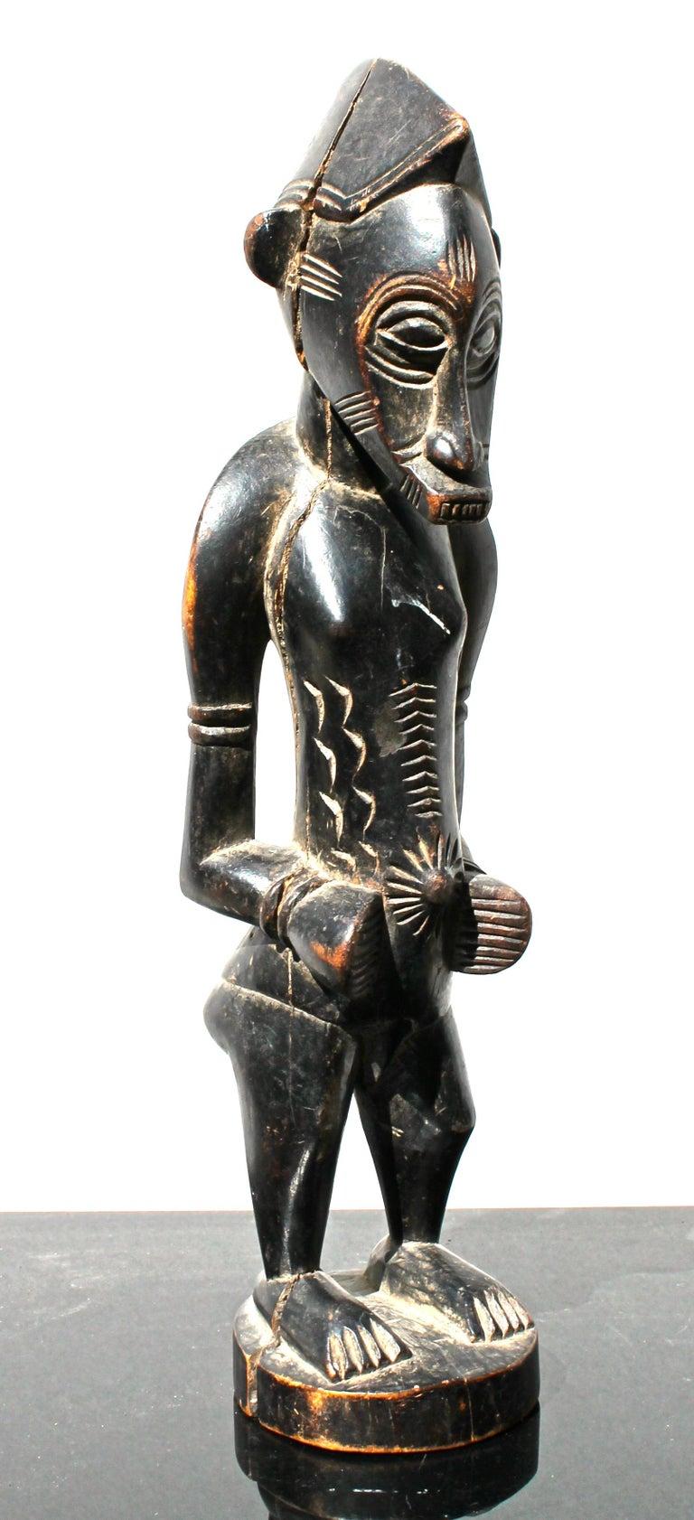 Ivorian Senufo Figure African Sculpture For Sale