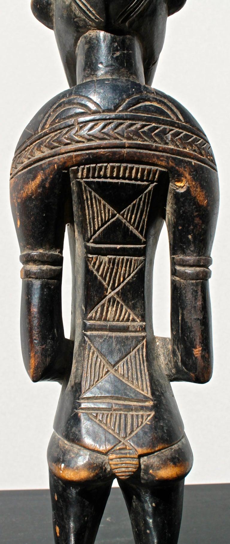 Senufo Figure African Sculpture For Sale 1