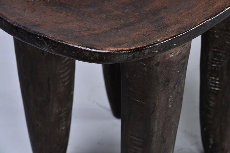 Senufo Hand Carved Side Table or Stool 3