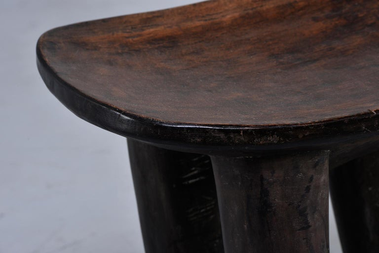 Ivorian Senufo Hand Carved Side Table or Stool