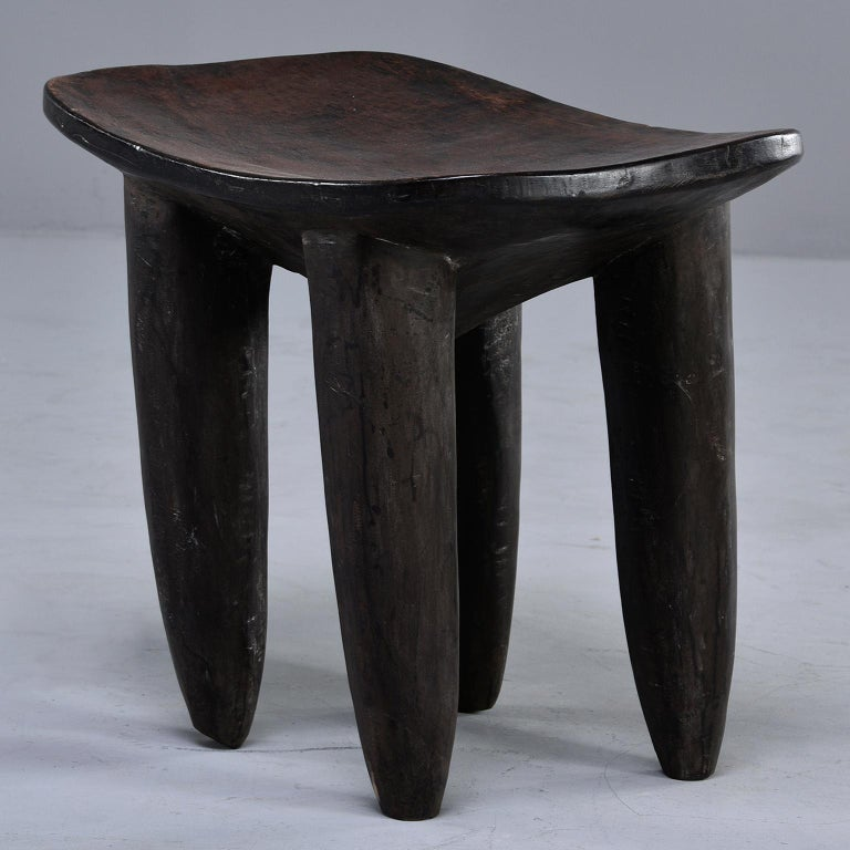 Hand-Carved Senufo Hand Carved Side Table or Stool