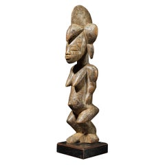 Senufo People, Ivory Coast, Standing Female Tugubele Divination Figure