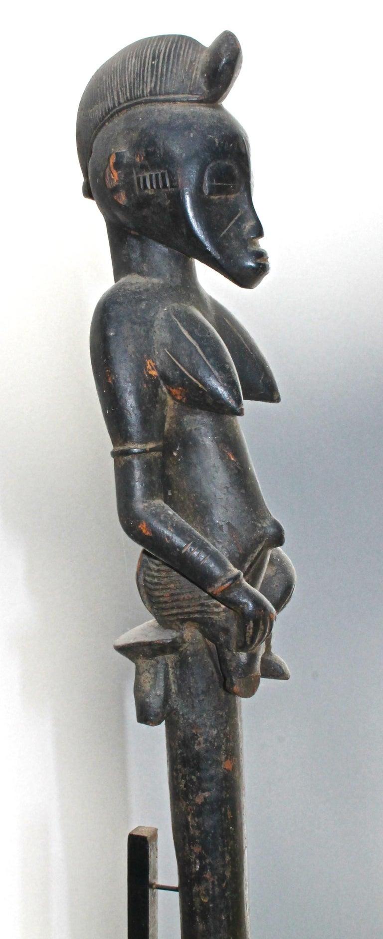 Tribal Senufo Staff Sotheby's Provenance For Sale