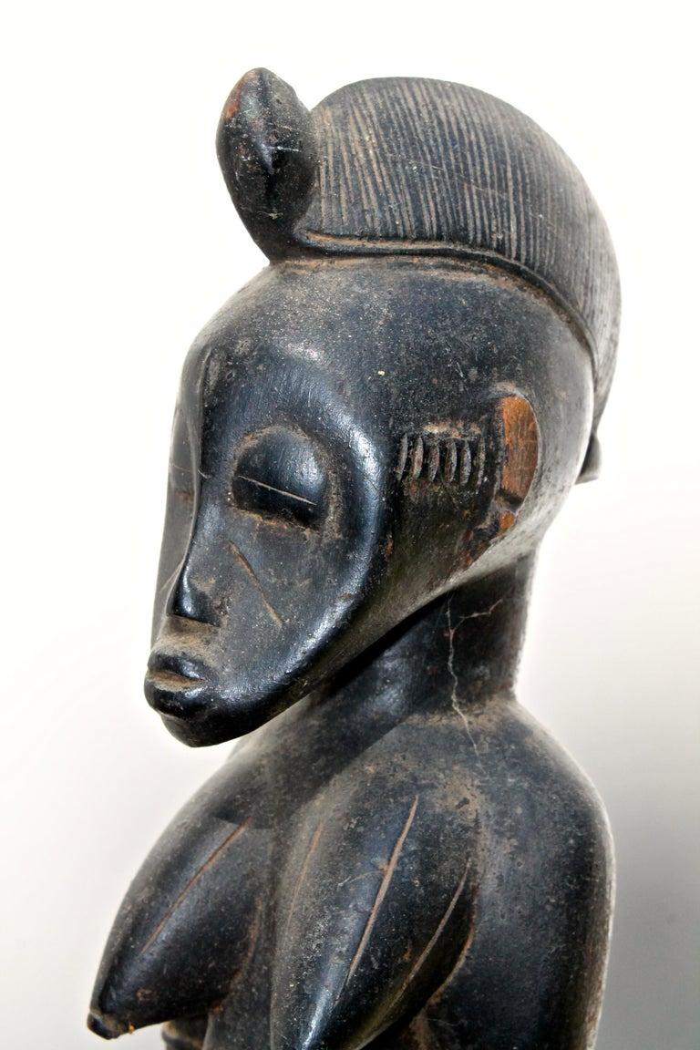 Ivorian Senufo Staff Sotheby's Provenance For Sale