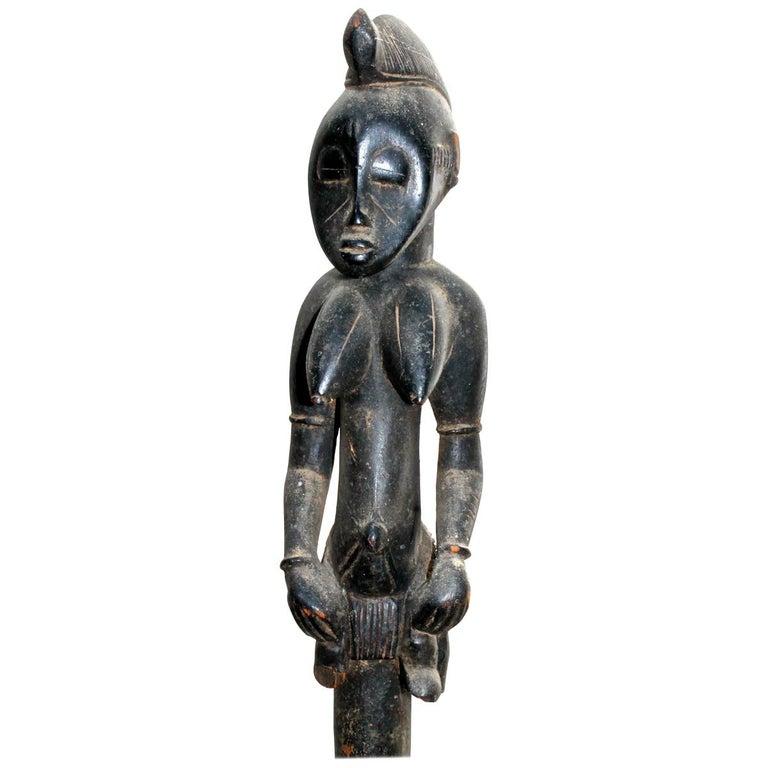 Senufo Staff Sotheby's Provenance For Sale