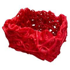 Senzafine Soft Resin Basket by Gateano Pesce