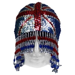 Sequined and Beaded Brittania Head Piece