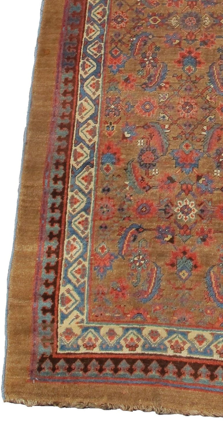 Hand-Knotted Serab Runner For Sale