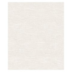 Serenata, Patterned Striped Hand Knotted Wool Viscose Rug