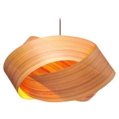 "SERENE Custom Cypress Wood 24"" Chandelier Pendant"