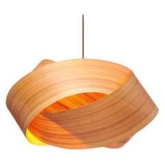 "SERENE Custom Cypress Wood 34"" Chandelier Pendant"