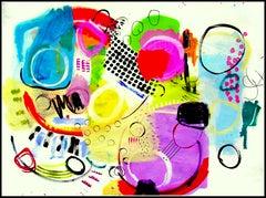 #41 Jazz Series, Painting, Acrylic on Canvas