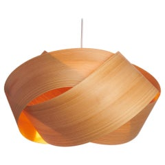 Serene Limited Edition-Scandinavian Design Natural Cypress Wood Chandelier