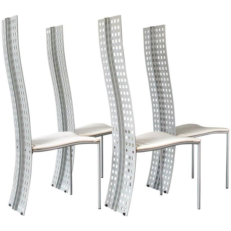 """Serenissima"" Chairs by Lella & Massimo Vignelli and David Law For Sale"