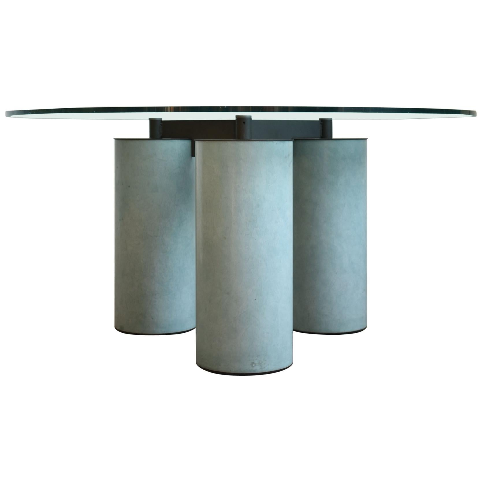 """""""Serenissimo"""" Dining Table by Lella & Massimo Vignelli  for Acerbis, Italy 1980s"""
