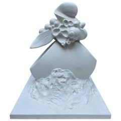 Serge Mansau, Fruit and Foliage, Sculpture in Plaster, 1990