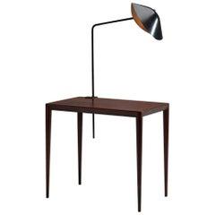 Serge Mouille 'Agrafée Simple' Desk Lamp, France, 1957