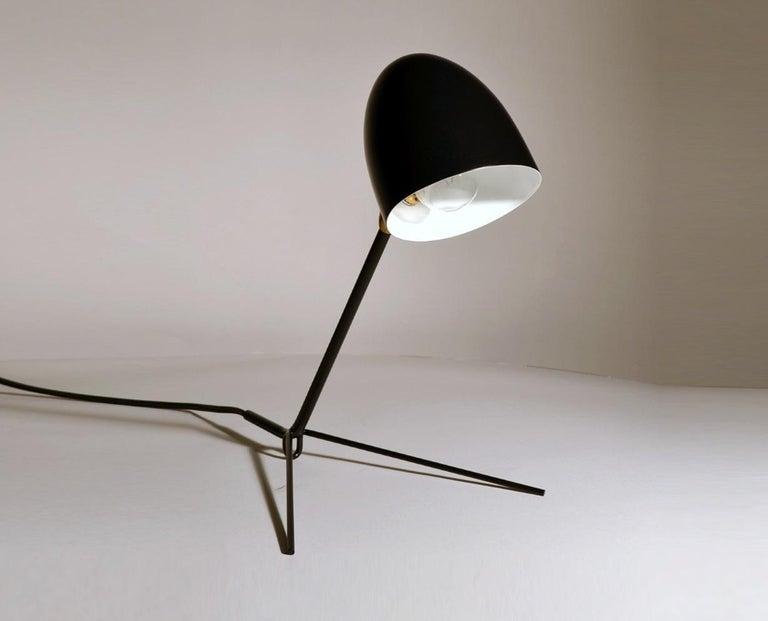 Mid-Century Modern Serge Mouille Cocotte Desk Lamp For Sale