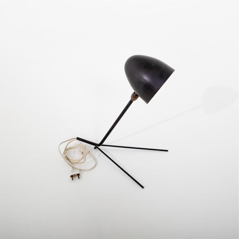 French Serge Mouille, Cocotte Table Lamp, France, 1957 For Sale