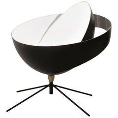 Serge Mouille Mid-Century Modern Black Saturn Table Lamp