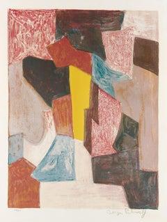 Composition Rouge, Carmin et Jaune