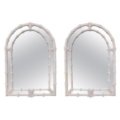 Serge Roche Gampel Stoll Style Wall Mirror, a Pair