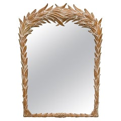 Serge Roche Style Palm Frond Mirror