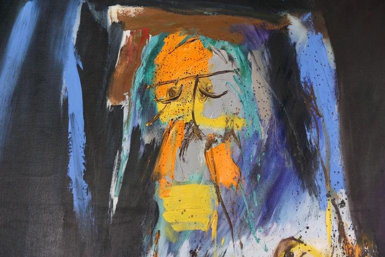 'Arrival of Time' by: Serge Vandercam - Post-War Painting by Serge Vandercam