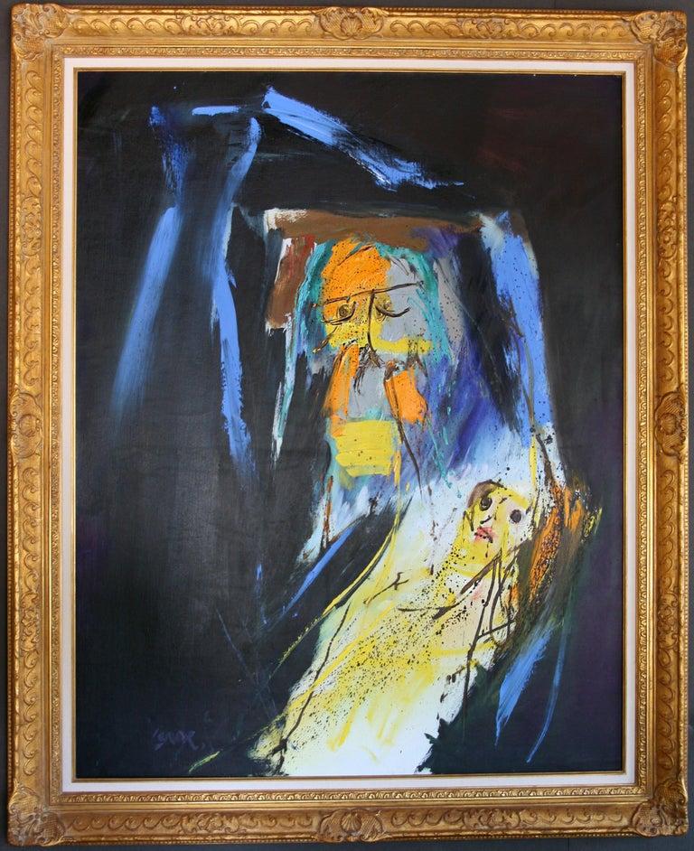 'Arrival of Time' by: Serge Vandercam - Painting by Serge Vandercam