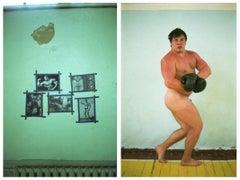 'Schwarzenegger Is My Idol 2'  Limited Edition Hahnemühle Rag Baryta print