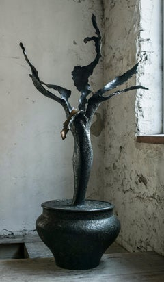 """My Flower"" Sculpture 59"" x 27.5 ""x 18"" inch Ed. 1/8 by Sergii Shaulis"