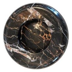 Sergio Asti Black Marble Bowl for Up & Up