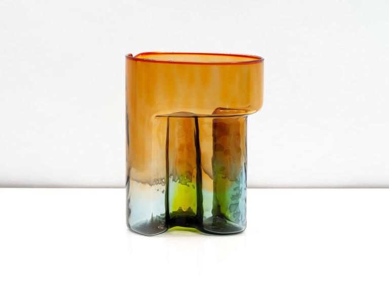 Italian Sergio Asti Blown Glass