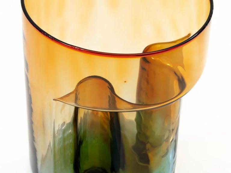Late 20th Century Sergio Asti Blown Glass