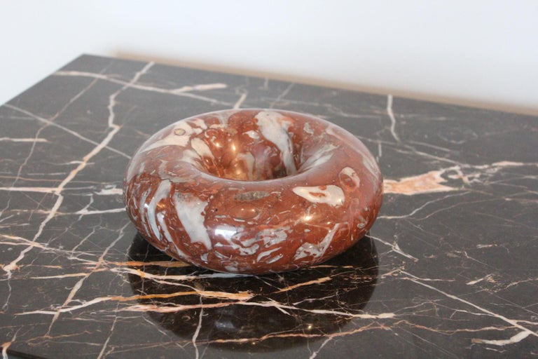 Sergio Asti Marble Bowl for Up & Up In Good Condition For Sale In Dallas, TX