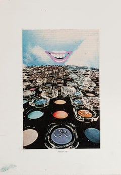 Collage - Original Collage by Sergio Barletta - 1975
