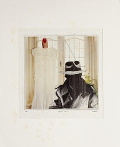 Collage - Original Collage by Sergio Barletta - 1982
