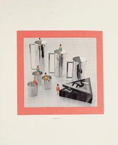 Composition - Original Collage by Sergio Barletta - 1975
