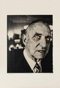 Sex Is the Power - Original Collage by Sergio Barletta - 1978