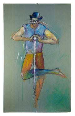 The Juggler - Original Artwork by Sergio Barletta - 1990s