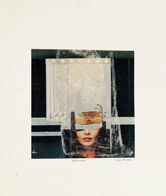 Washdream - Original Collage and Tempera by Sergio Barletta - 1985