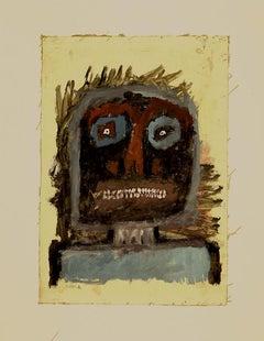 Scared - Original Mixed Media by Sergio Barletta - 1960s