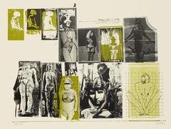 Nude - Original Lithograph by Sergi Barletta - 1970s