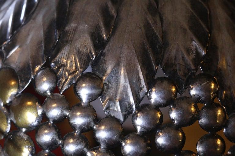 Sheet Metal Sergio Bustamante Hanging Light For Sale