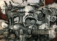 Beyond Words, Mixed Media on Canvas