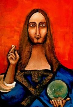 The Savior, Painting, Acrylic on Canvas