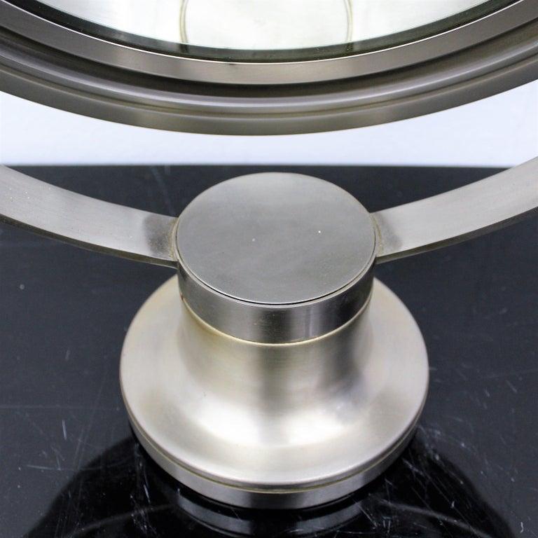 Sergio Mazza for Artemide 1960s Modern Design Table Mirror For Sale 2
